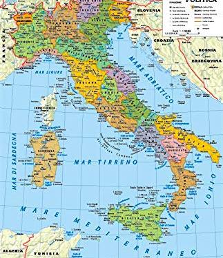 GEOGRAFIA FISICA – L'ITALIA