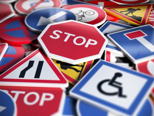 Le regole della strada